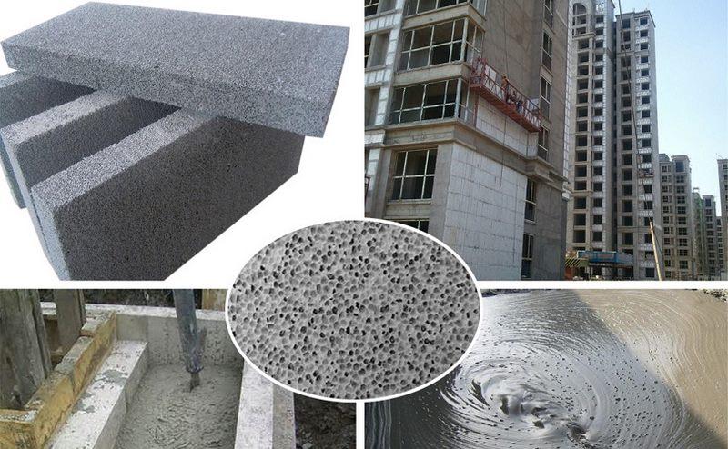 مصالح ساختمانی,مصالح سبک ساختمانی,بتن سبک کفی,