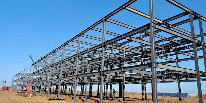 اسکلت ساختمان,اسکلت فلزی ساختمان,انواع اسکلت فلزی